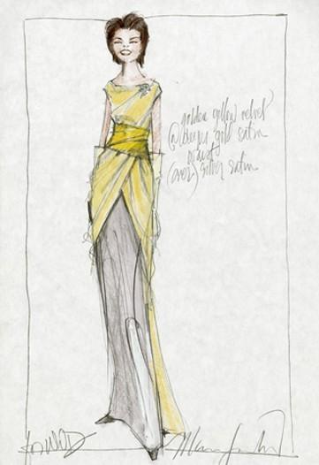 Дизайн одежды дляМишель Обамы. Изображение № 6.