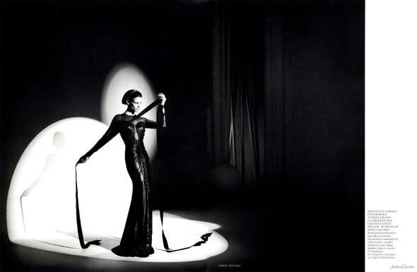Съемка: Саския де Брау для британского Vogue. Изображение № 11.