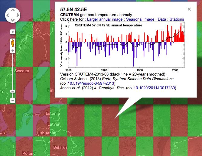 Инфографика показывает столетнее изменение климата на Google Maps. Изображение № 2.