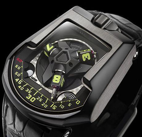 Ультрасложные часы отUrwerk. Изображение № 1.