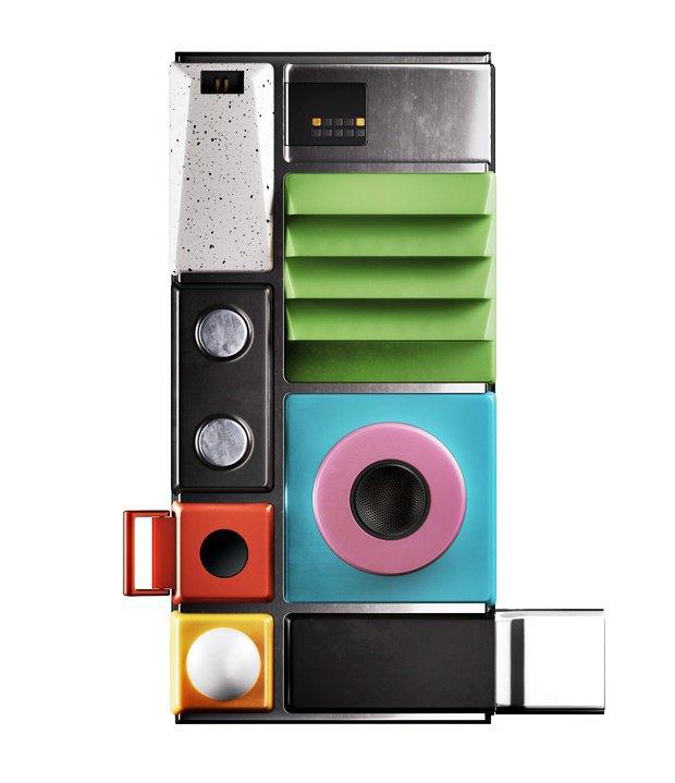 Концепт дня: смартфон Ara смодулями Lapka. Изображение № 2.