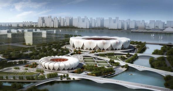Новый спортивный парк в Ханчжоу. Изображение № 1.