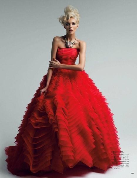 Аня Рубик для Vogue Japan (май 2012). Изображение № 2.
