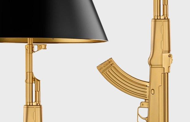 Лампа Филиппа Старка из серии Gun Lamp . Изображение № 7.
