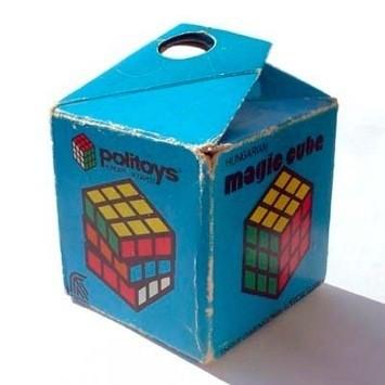 Оригинальная упаковка венгерского кубика Рубика. Изображение № 44.