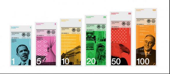 Как дать доллару вторую жизнь: Вашингтон и другие в новом дизайне. Изображение №4.