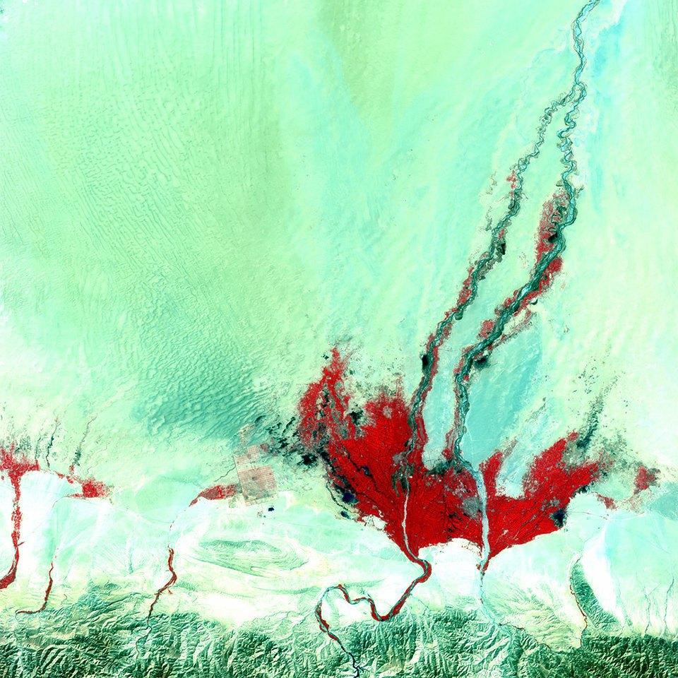 Как выглядит Китай: Сюрреалистичные фотографии из космоса. Изображение № 2.