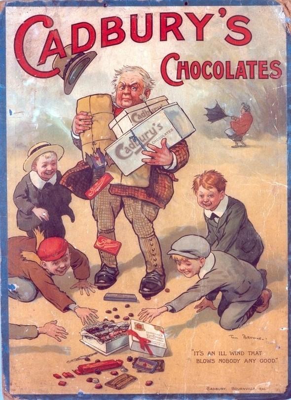 Dolce Vita! Винтажные обертки для шоколада и конфет. Изображение № 7.