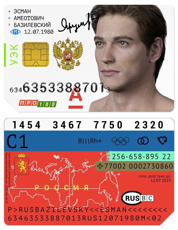 Редизайн: Универсальная электронная карта гражданина России. Изображение № 8.