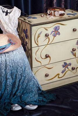 Роспись мебели и предметов интерьера. Изображение № 1.
