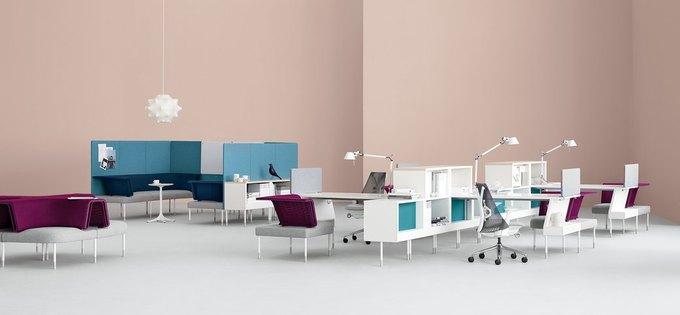 Herman Miller начал выпуск «гибкой» офисной мебели Ива Беара. Изображение № 6.