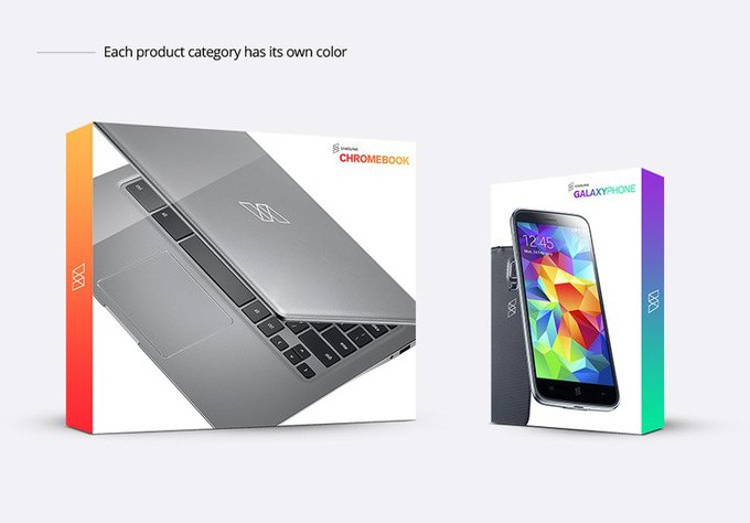 Дизайнер предложил ребрендинг Samsung . Изображение № 12.