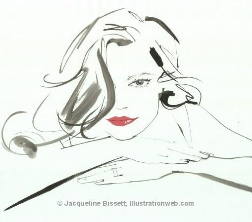 Иллюстратор Жаклин Биссет. Изображение № 47.