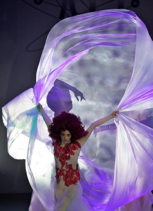 «МОНЕ» «Нежный кокон» на «Alternative Hair Show». Изображение № 9.