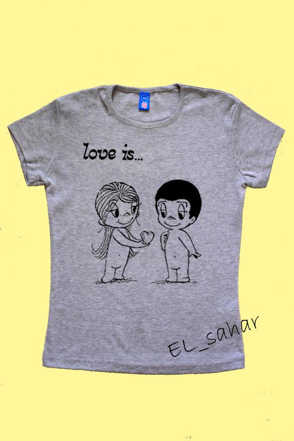 Elsaharova: половинчатые футболки на 14 февраля. Изображение № 21.