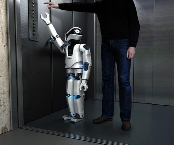 Немецкий робот Myon (Прототип Терминатора). Изображение № 3.