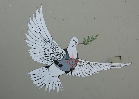 Арт-терроризм от Бэнкси. Изображение № 40.