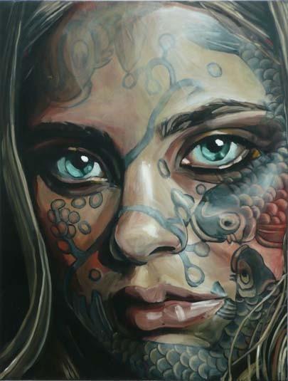 Belinda Eaton. Живые портреты. Изображение № 5.