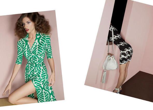 Изображение 24. Рекламные кампании: Diane von Furstenberg, Karl Lagerfeld, McQ и другие.. Изображение № 11.