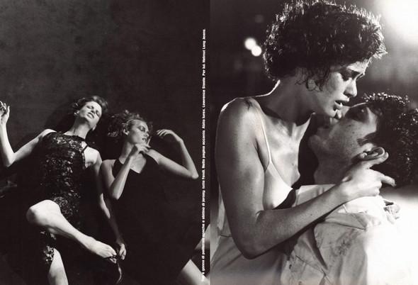 Архивная съёмка: сет Fashion Marathon из итальянского Vogue за 1997 год. Изображение № 6.