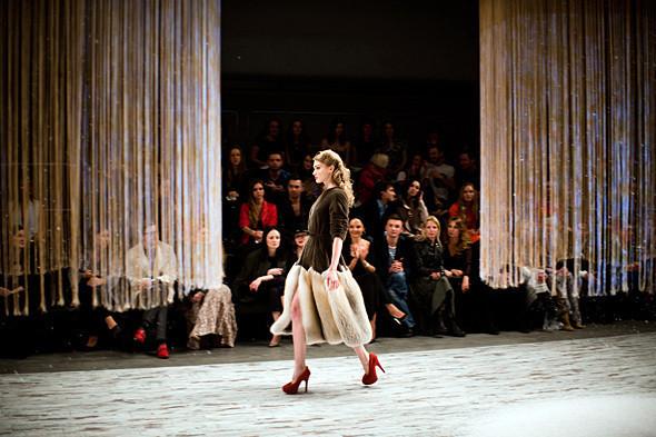 Показ Ulyana Sergeenko FW 2011. Изображение № 12.