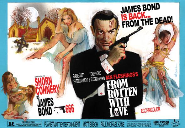 15 зомби-постеров известных фильмов. Изображение № 13.