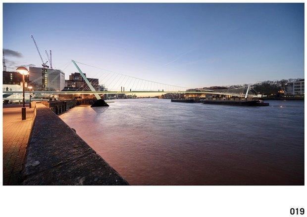 Выложены 74 проекта нового моста через Темзу. Изображение № 50.