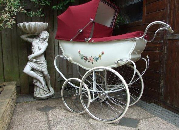 Ретро – kinderwagen, stroller илидетская коляска. Изображение №18.