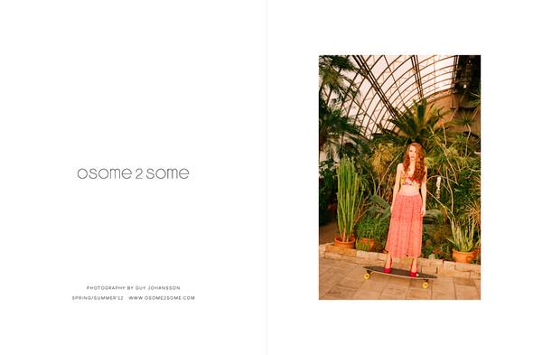 Рекламная кампания: Osome2some SS 2012. Изображение № 1.