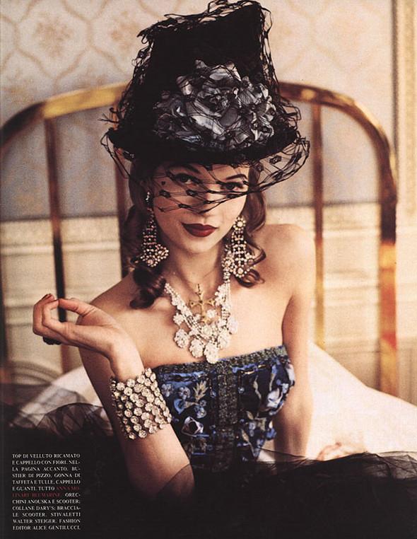 Архивная съёмка: Кейт Мосс для итальянского Vogue, 1992. Изображение № 7.