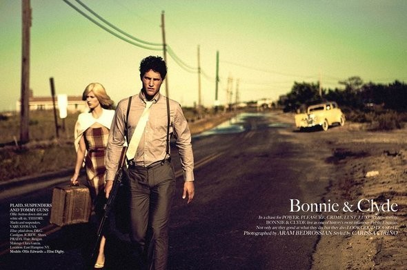 """""""Бонни и Клайд""""/ Vogue US. Изображение № 37."""