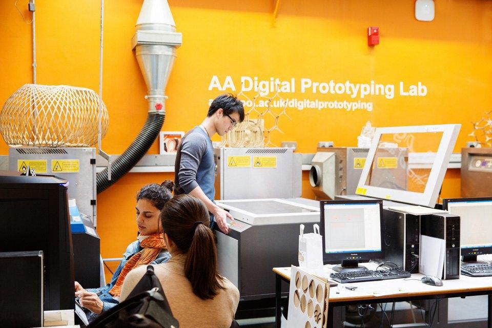 Рабочее место: архитектурная школа AA School. Изображение № 14.