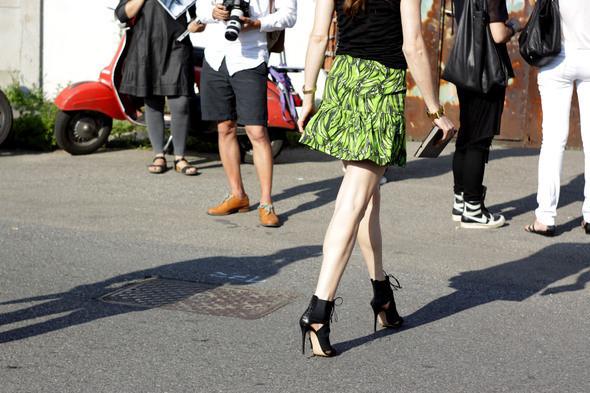 Изображение 6. Девушки на Milan Fashion Week: день 3 и 4.. Изображение № 6.