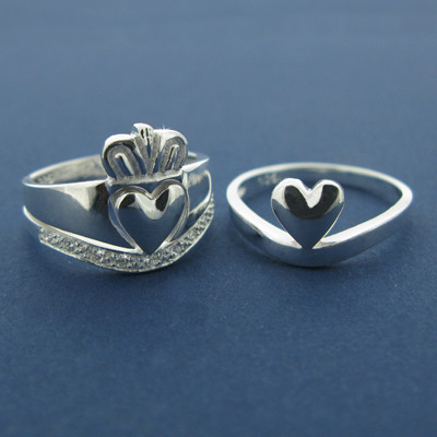 Кольца влюбленных — кладдахские кольца из Ирландии. Изображение № 8.