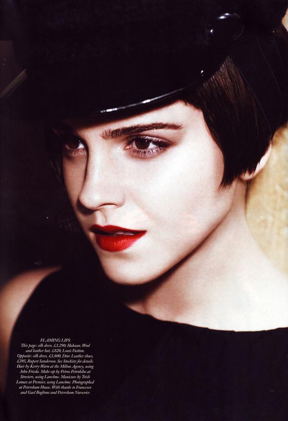 Съёмка: Эмма Уотсон в британском Harper's Bazaar. Изображение № 2.