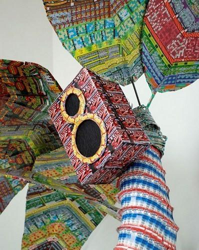 """""""Дом мечты"""", сделанный из 70000 лотерейных билетов. Изображение № 7."""