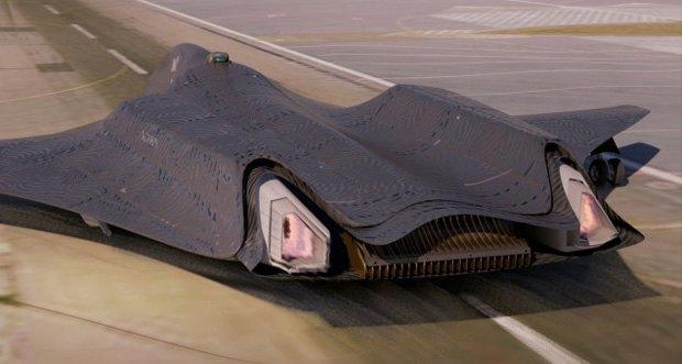 Дизайнер представил биомиметические самолёты. Изображение № 10.