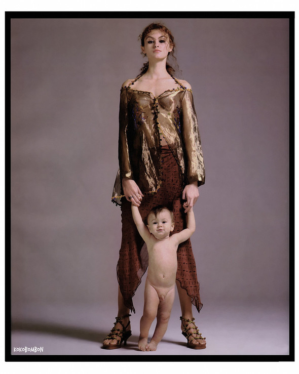 Архивная съёмка: Ричард Аведон для кампании Romeo Gigli. Изображение № 1.
