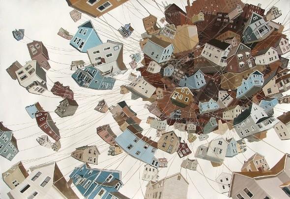Города сточки зрения иллюстратора ЭмиКэйси. Изображение № 14.