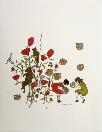 Канадский художник Marcel Dzama. Изображение № 4.