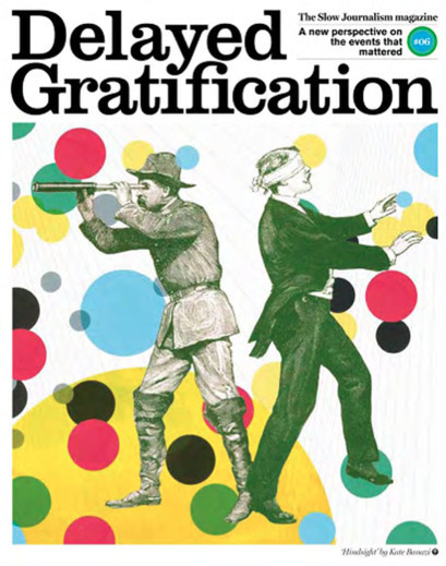 Обложки недели: Little White Lies, Delayed Gratification, Zeit Magazin. Изображение №1.