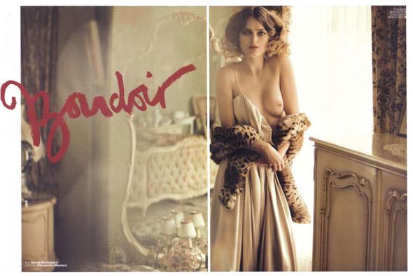 Журнал: Marie Claire Italia, октябрь 2009. Изображение № 1.