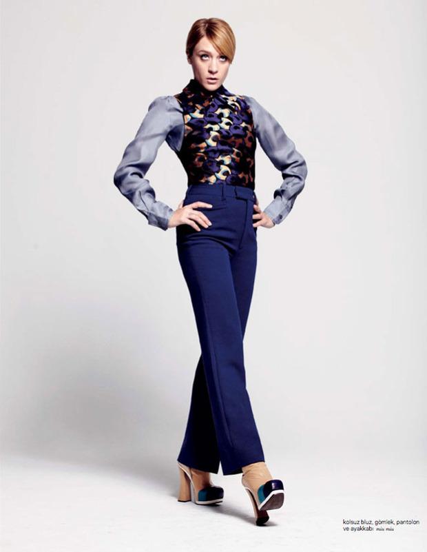 Вышли новые съемки Vogue, i-D, 10 и Interview. Изображение № 15.