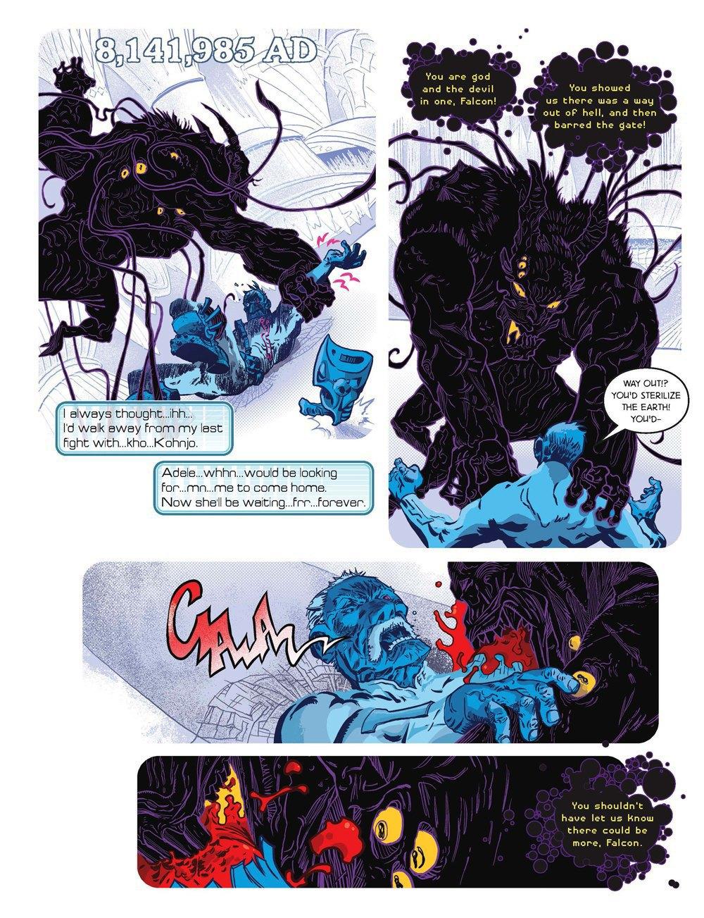 Как стать художником мирового издательства комиксов. Изображение № 7.