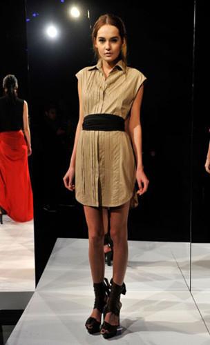 Lublu Kira Plastinina FW 2011 на показе на Нью-Йоркской неделе моды. Изображение № 31.