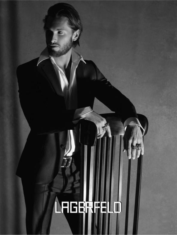 Кампания: Lagerfeld FW 2011. Изображение № 3.