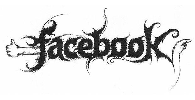 Лого известных брендов переделали в стиле блэк-метал. Изображение № 2.