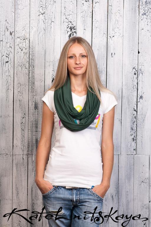 Осенняя коллекция ярких шарфов-снудов. Изображение № 5.