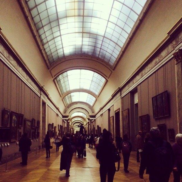 6. Лувр, Париж, Франция. Изображение № 6.