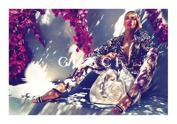 Кампания: Gucci Cruise 2012. Изображение № 1.